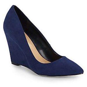 Saks Fifth Avenue Women's Suede Wedge Heels